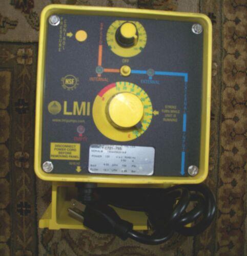 LMI MILTON ROY C721-75S Metering Pump Series C