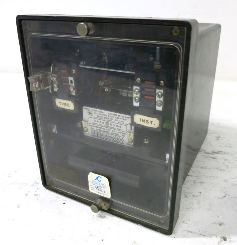 GE 12IFC95BD2A Short Time Overcurrent Relay 50/60Hz 2-50A General Electric