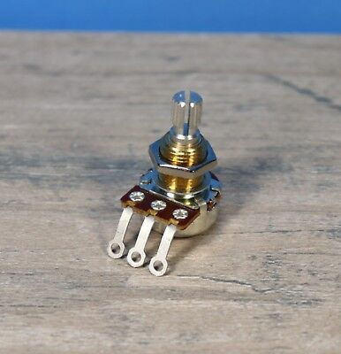 - Bourns Mini Pot Potentiometer Audio Taper 500K NEW Split Shaft 500 K