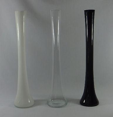 16-Inch Trumpet Round Tower Glass Vase for Decorating Wedding Eiffel Centerpiece