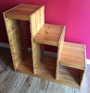 IKEA Trofast solid pine frame for toy storage