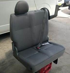 Toyota Hiace Commuter Bus Seat, drivers side rear, folds up. Rockdale Rockdale Area Preview
