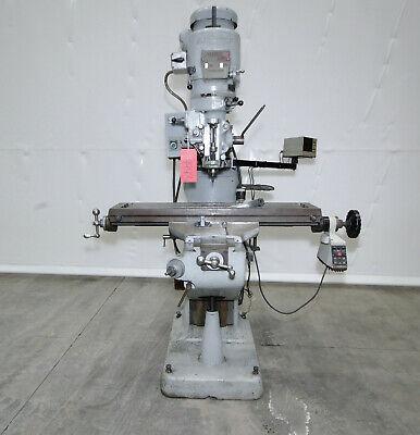 14440 Bridgeport Series I Vertical Knee Mill 9 X 48 Table