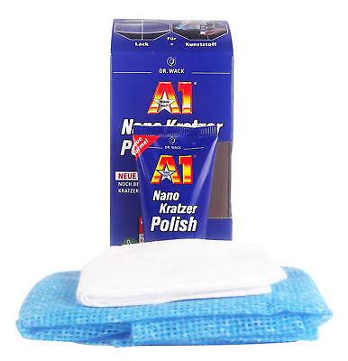 DR. WACK A1 Nano Kratzer Polish Politur Kratzer-Entferner Lackpolitur 50 ml gebraucht kaufen  Waldkirchen