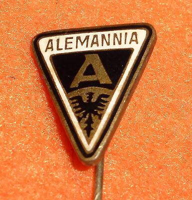 Alemannia Aachen Fußball Anstecknadel aus Emaille