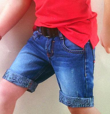 Shorts Jeans-Bermuda Gr.74 kurze Hose Kleinkinder neu