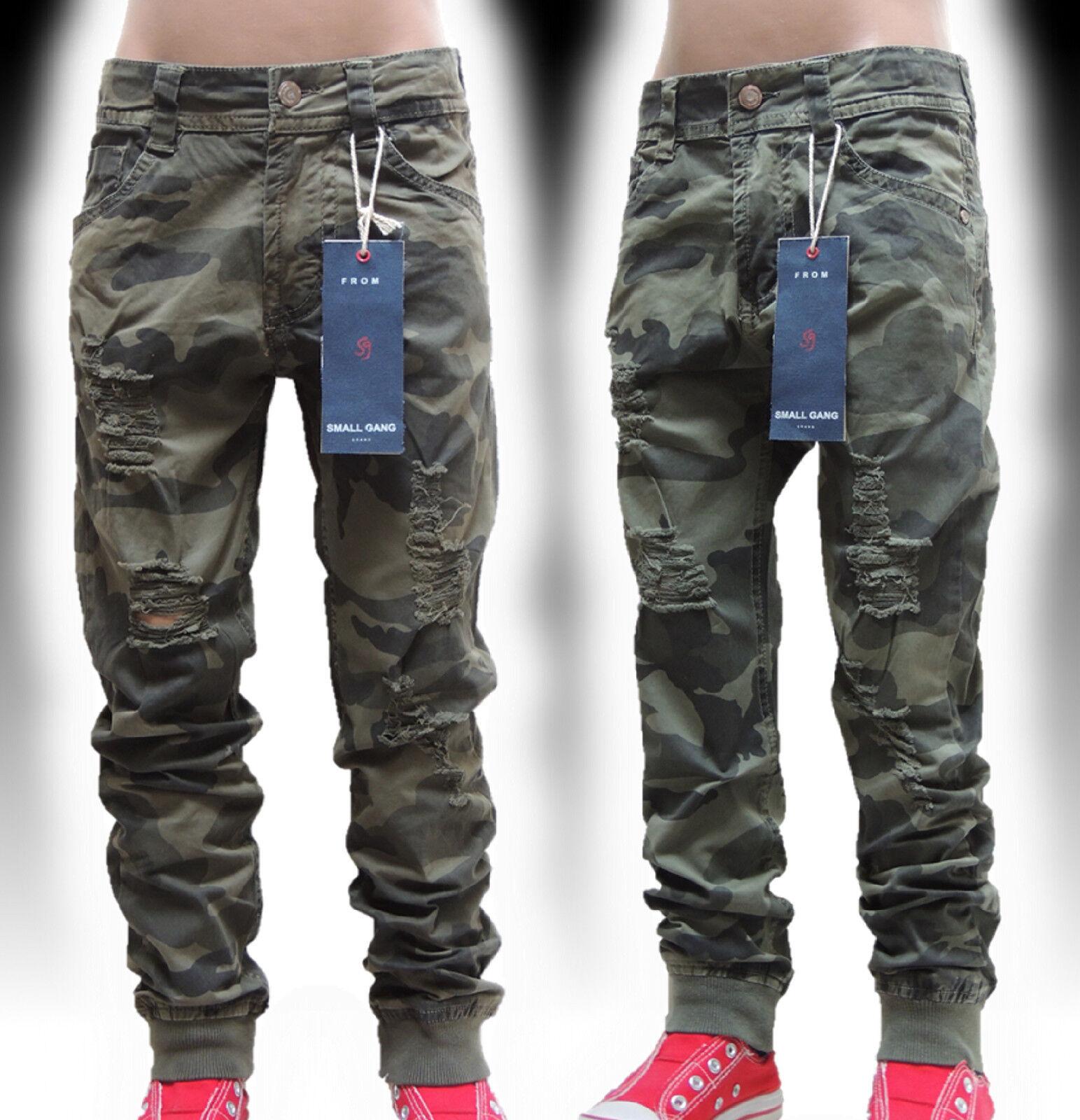 5241 Camouflage JungenJeans KinderJeans-Hose~SchnäppchenCorner~Gr.4-14~Neu K/73