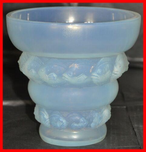 Sabino Opalescent Glass Vase Model Lizens 7120