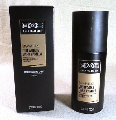 Axe Daily Fragrance Signature Oud Wood & Dark Vanilla Pump Spray - 3.38 oz.