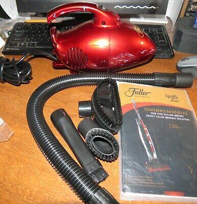 Fuller Brush FB-MV4 Mini Maid Handheld Vacuum With Tools w/box (Fuller Brush Mini Maid Handheld Vacuum With Tools)