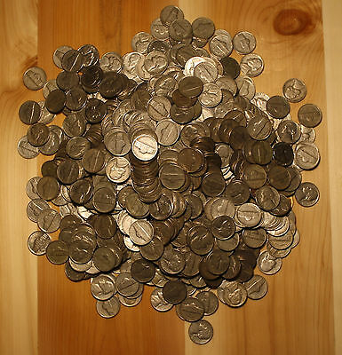 1948 P JEFFERSON NICKEL ROLL 40 COINS CIRCULATED NICE COINS CHECK OUT STORE