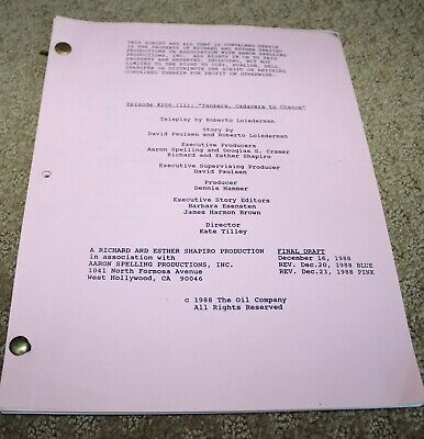 DYNASTY  TV SERIES SHOW SCRIPT  EPISODE 206