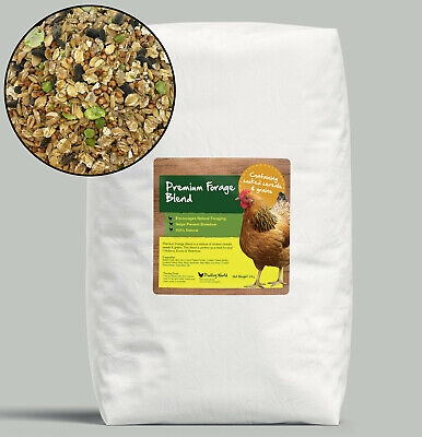 Premium Poultry Forage Blend 20kg, Natural Chicken Feed Treat,