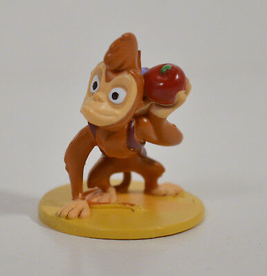 Monkey On Friends (RARE 1.75 Abu the Monkey On Stand w/ Apples PVC Action Figure Aladdin Pet)
