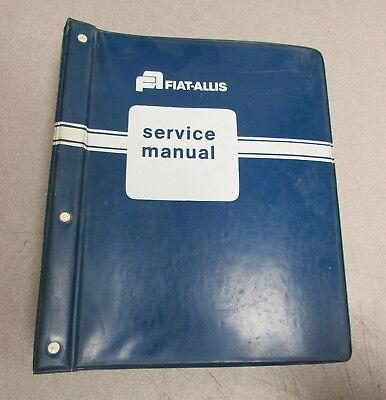Fiat-allis 345-b Wheel Loader Service Repair Manual Set 73067441