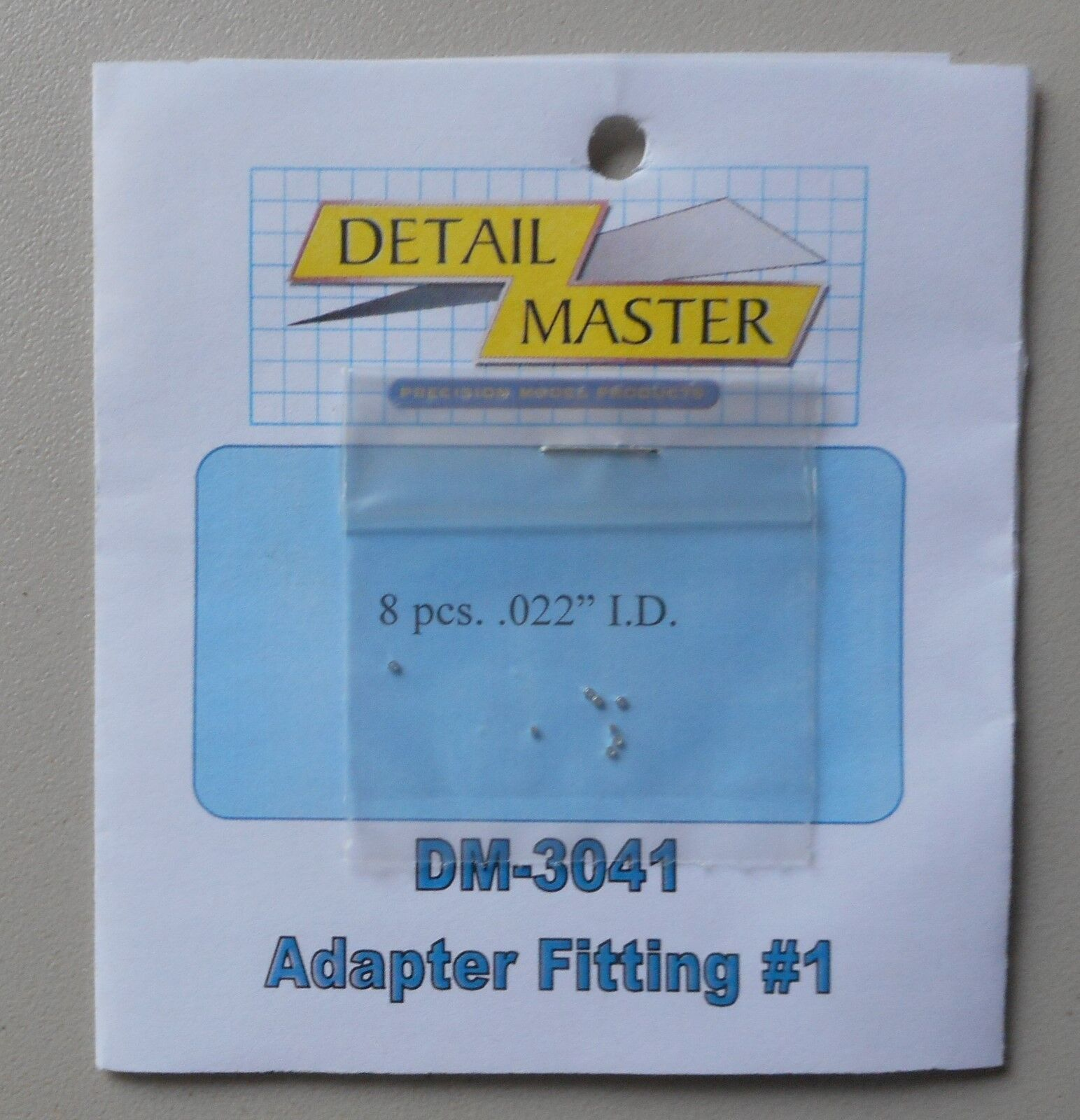 ADAPTER FITTING #1 .020 1:24 1:25 DETAIL MASTER CAR MODEL AC