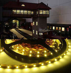 20 st led hausbeleuchtung 5cm modellbeleuchtung bahnsteig beleuchtung h user b. Black Bedroom Furniture Sets. Home Design Ideas
