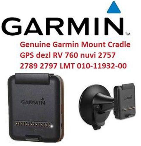 *Cradle Adapter Only*Genuine Garmin RV 760LMT Dezl 760LM 770 LM LMT-HD Mount GPS