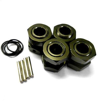 1/8 Escala RC Nitro Buggy 17mm Aleación Rueda Hubs Adaptador Tuerca Pin...