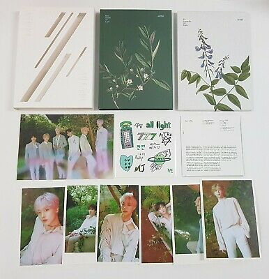 ASTRO ALL LIGHT White ver. CD+Booklet+Postcard SET+Sticker Free tracking number