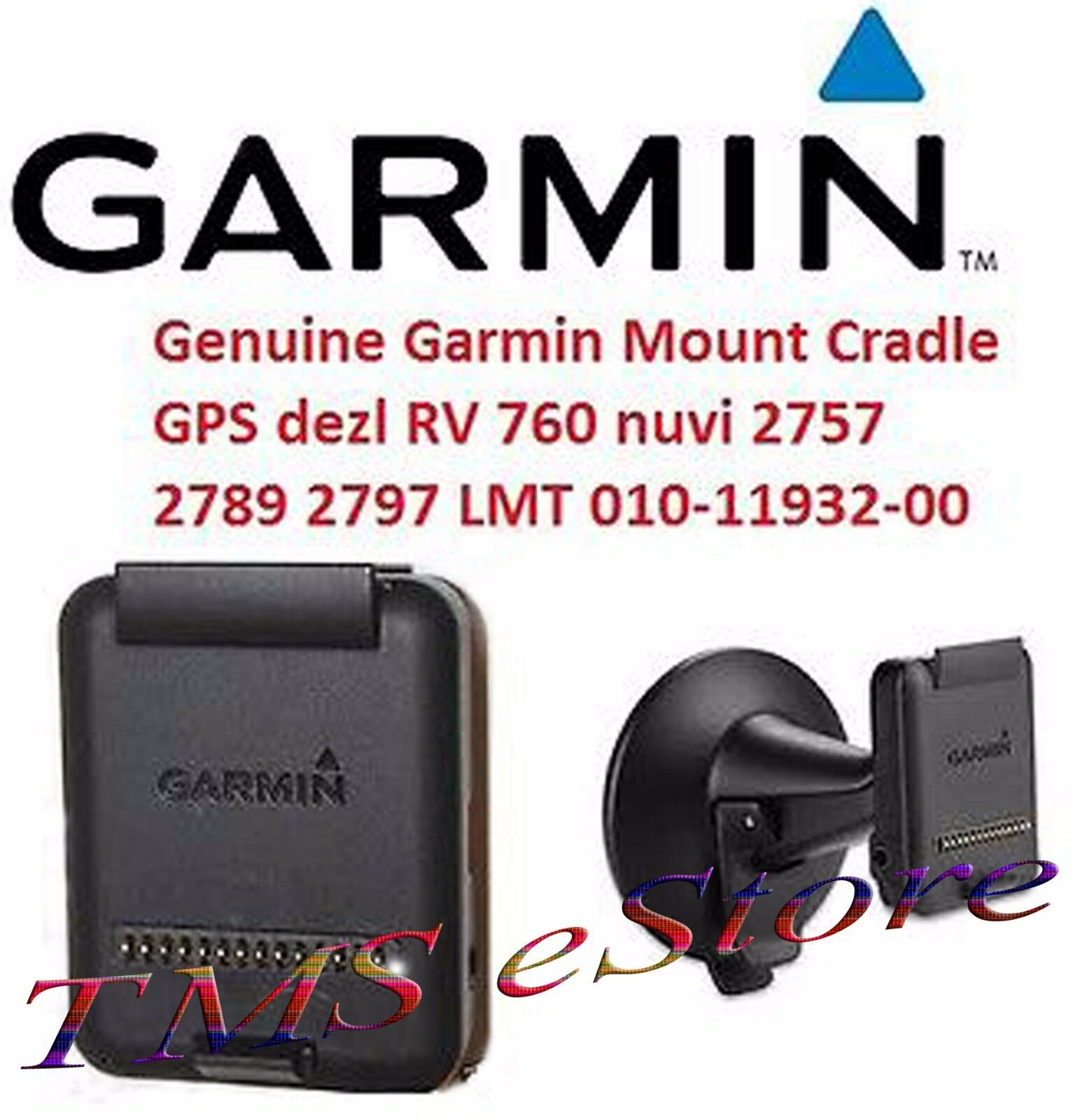 Garmin Cradle Only Power Mount For Rv 760lmt Nuvi 2757lm ...