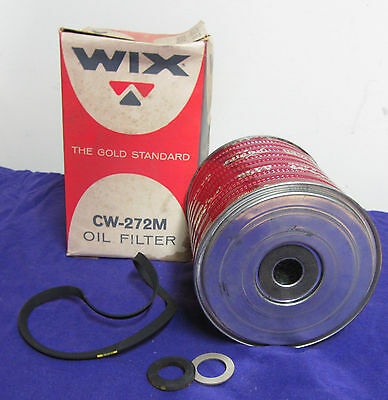 VINTAGE WIX OIL FILTER CW-272M - FITS FORD TRUCKS - ONLY ONES ON EBAY!