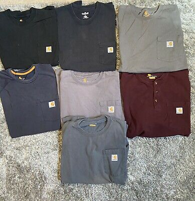 Carhartt Bundle Lot of 7 Size L Vintage Workwear Wip Heron Preston