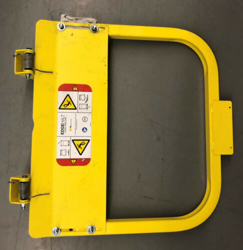 "EDGEHALT SAFETY ACCESS 500569 SAFETY GATE 19-3/4"" X 23-1/2"" BRIGHT YELLOW STEEL"