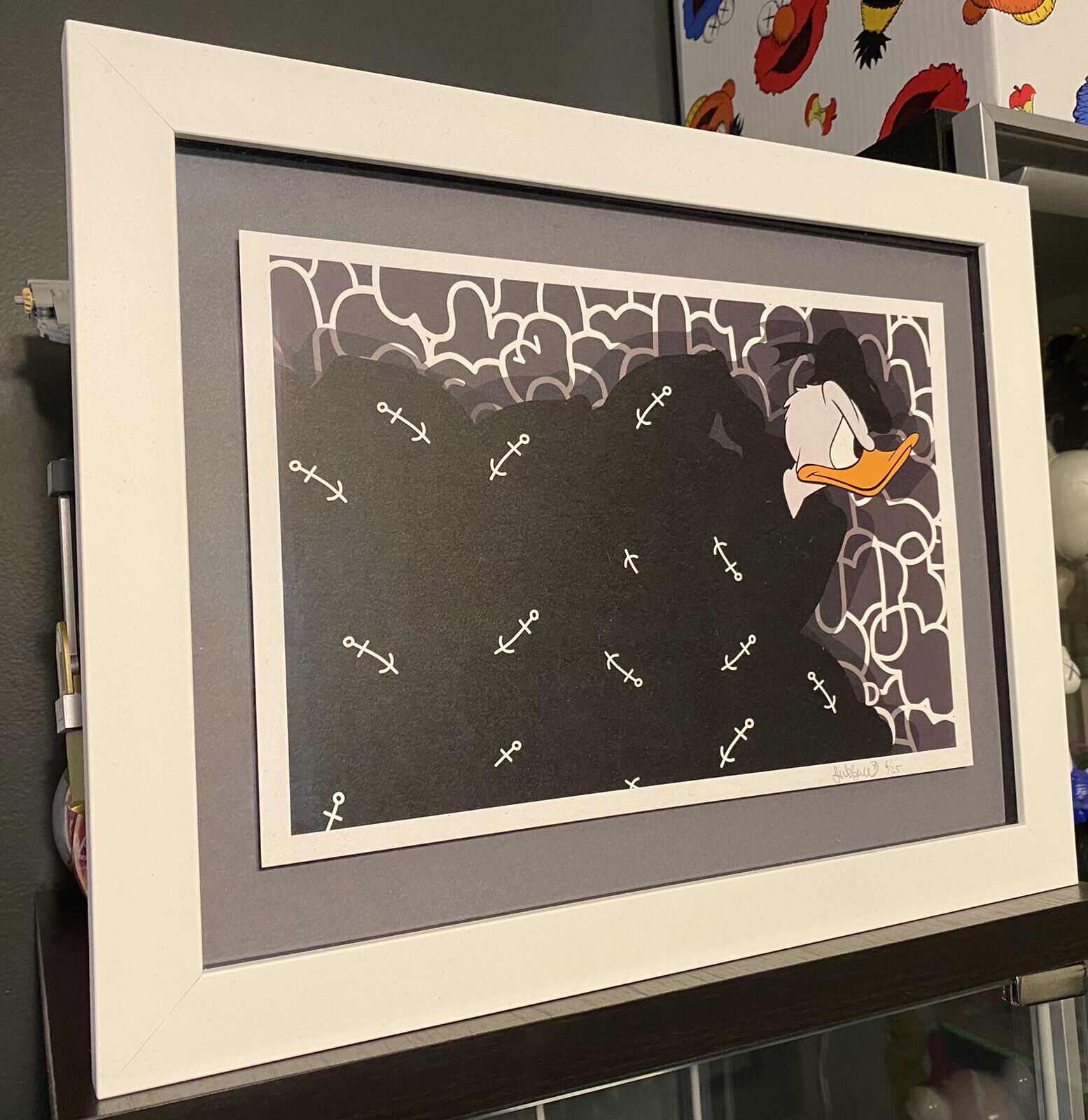"Jerkface – ""Strong Arm Duck"" Framed Limited Edition Print"