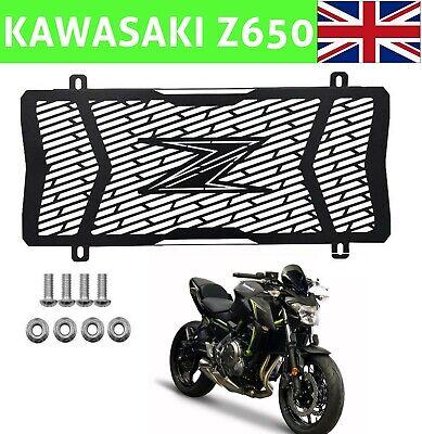 <em>YAMAHA</em> KAWASAKI Z650 MOTORBIKE RADIATOR GRILL GUARD PROTECTION WATER T