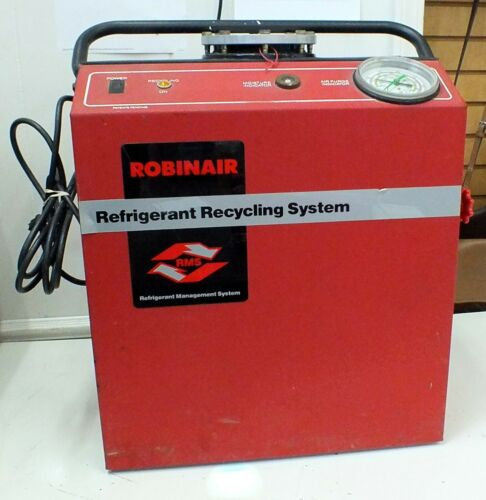 RobinAir Refrigerant Recycling System Unit 17150A Equipment 115 Volt / 1.9 Amp