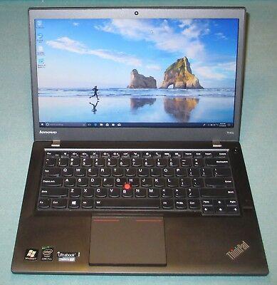 Lenovo Laptop T440s i7 4600U 2.1Ghz  12GB RAM 160GB SSD Win 10 Pro 14 inch