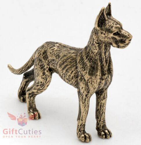 Bronze Figurine of Great Dane dog