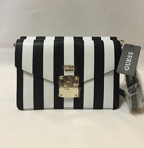Guess Black/White Handbag Shoulder Crossbody Bag BRAND NEW AUTHENTIC Westmead Parramatta Area Preview
