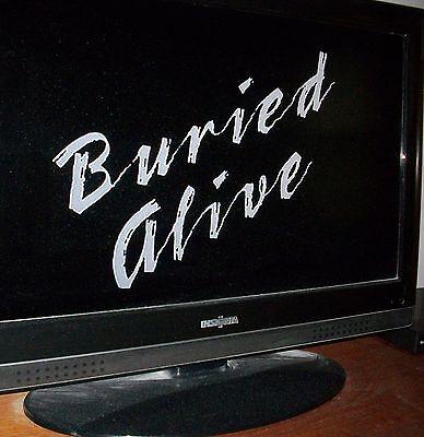 BURIED ALIVE Jennifer Jason Leigh Tim Matheson 1990 TV Movie DVD U.S. sale only
