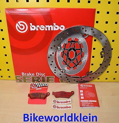 Brembo Bremsscheibe + Sinter Bremsbeläge hinten BMW R 1100 GS, R, RS, RT, S