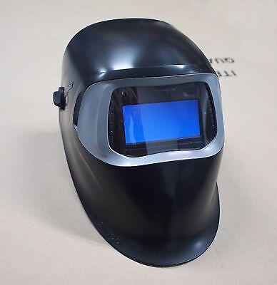 New Improved 3m Speedglas 100 Black Welding Helmet With Auto-darkening