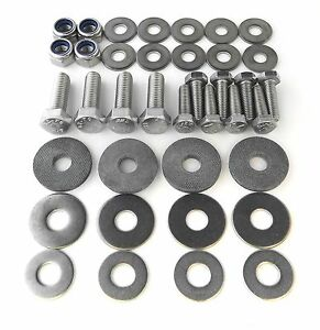 VW-BEETLE-BUG-Stainless-Steel-RUNNING-BOARD-Bolt-Kit