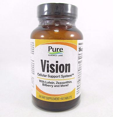 Pure Essence Labs Vision Cellular Support System 60 Tablets