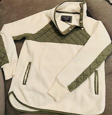Abercrombie & Fitch fleece Sherpa like jacket