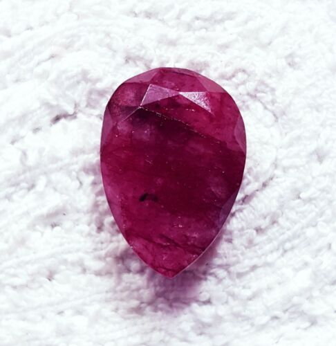 Natural Red Beryl (Bixbite) Loose Gemstone 12.95 Ct Certified With Free Shipping