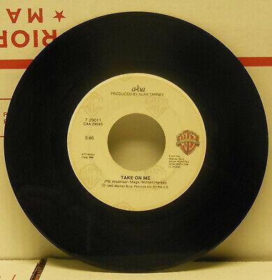 A-Ha: Take On Me / Love Is Reason . 45 RPM, VG