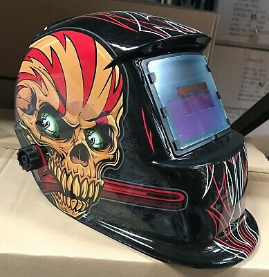 Wskd Auto Darkening Weldinggrinding Helmet Hood1 Carrying Bag1 Clear Cover