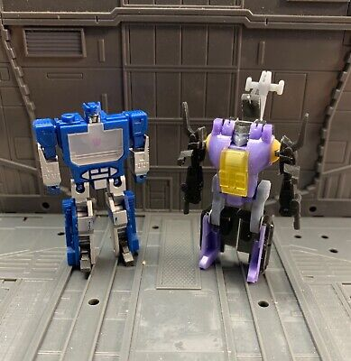 WST BOMBSHELL WORLD SMALLEST TRANSFORMERS CUSTOM LIMITED RUN OPTIMUS INSECTICONS