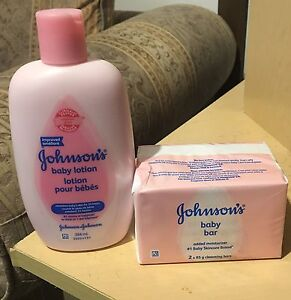 Johnson's Baby Lotion and Baby Bar- Never Opened!