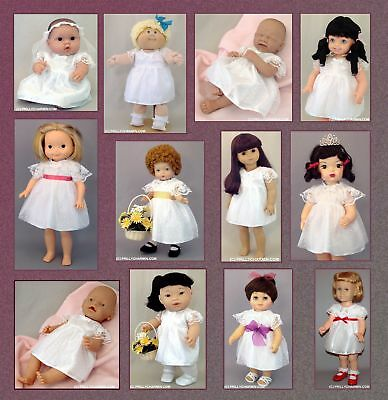 Modern First Communion Dresses (White Lace Dress for BRIDES, ANGELS, 1ST COMMUNION - Fit CPK & MANY)