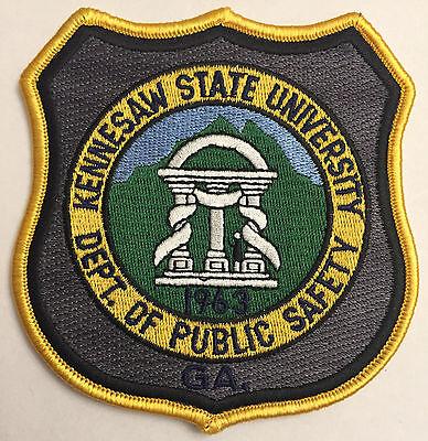 Kennesaw Georgia GA University School College Police Sheriff Patch