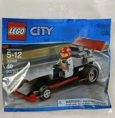 NEW LEGO 30358 City Dragster Drag Racer Set Race Car