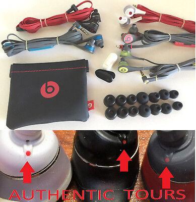 Beats by Dr. Dre Tour 2.0 2.5 Tour2 In-Ear Headphones Red Yellow Blue (Beats By Dre Tour2 In Ear Headphones)