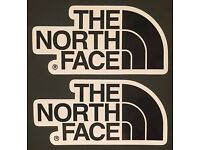New large The North Face Sticker You Pick Either Camo Or Aztec Print Vinyl Style